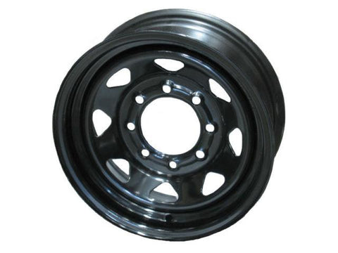 "16"" Wheel, Black Spoke, 8 on 6.5"" Wheels & Fenders Nationwide Trailers Parts Store"