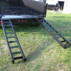 "77"" Slide-In Dump Trailer Ramp Ramps Nationwide Trailers Parts Store"