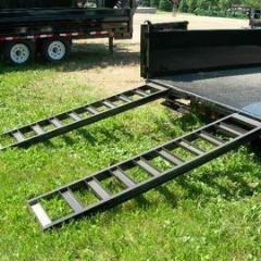 "96"" (8 ft) Slide-In Gooseneck Trailer Ramp (Sold Individually)"