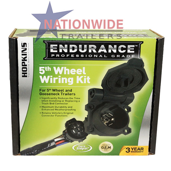 Wiring Kit, Hopkins Endurance 5th Wheel
