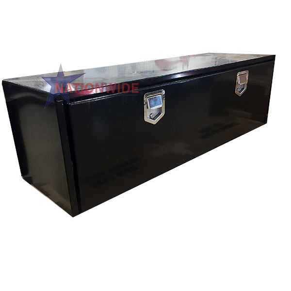 "Buyers Truckbed Toolbox – 14 Gauge Steel Tool Boxes Nationwide Trailers Parts Store 18"" x 18"" x 48"""