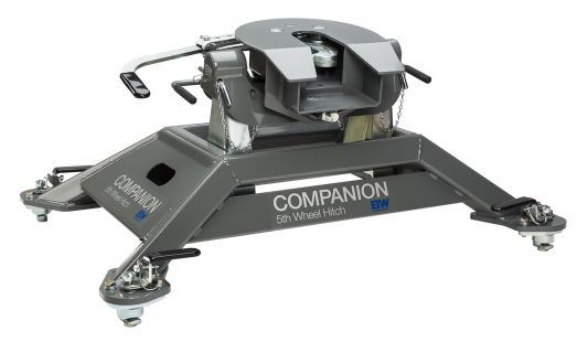 B&W Companion 25K Fifth Wheel Hitch (Dodge OEM Puck System) Hitches & Towing Nationwide Trailers Parts Store