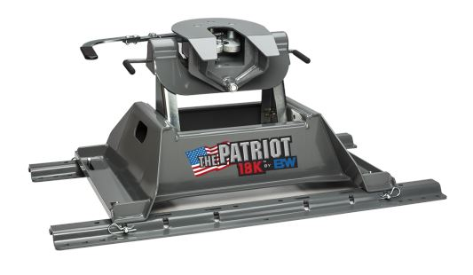 B&W Patriot 18K Fifth Wheel Hitch Hitches & Towing Nationwide Trailers Parts Store