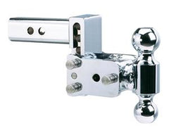 "B&W Tow & Stow 2"" Hitch (Chrome) Hitches & Towing Nationwide Trailers Parts Store"