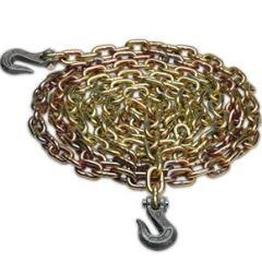 "Chain w/ Grab Hooks 3/8"" x 20' - USA Made Cargo Control Nationwide Trailers Parts Store"