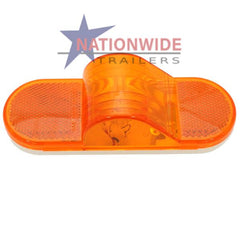 "Clearance Light, Oblong, Mid-ship, 6-1/2"" Amber Lights & Electrical Nationwide Trailers Parts Store"