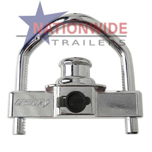 Coupler Lock, Bumper Pull Trailer Trailer Safety, Security, & Accessories Nationwide Trailers Parts Store