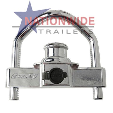 Coupler Lock, Bumper Pull Trailer