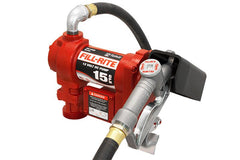 Fill-Rite 12 Volt DC Pump with Hose and Manual Nozzle Trailer Safety, Security, & Accessories Nationwide Trailers Parts Store