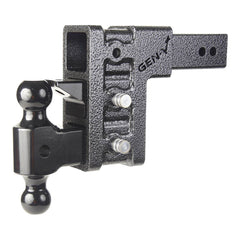 "Gen-Y Adjustable Hitch w/ Dual Ball & Pintle, 6"" Drop/Rise, 32K Hitches & Towing (FS) Nationwide Trailers Parts Store"
