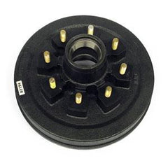"Hub & Drum, 5.2K - 7K, 8 on 6 1/2"" - 5/8"" Studs Axle Components Nationwide Trailers Parts Store"
