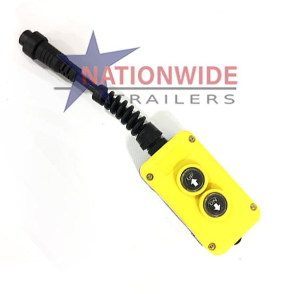 KTI Hydraulics 2-Button Remote Hydraulics Nationwide Trailers Parts Store