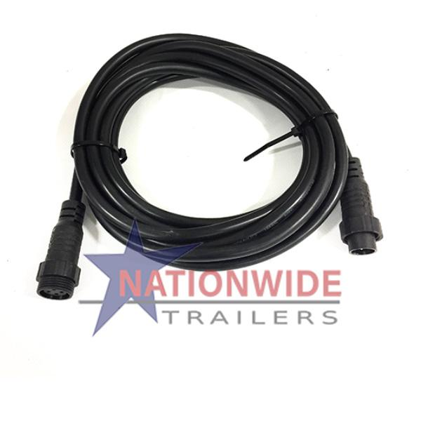 KTI Hydraulics Remote Extension Cord - 15' Hydraulics Nationwide Trailers Parts Store