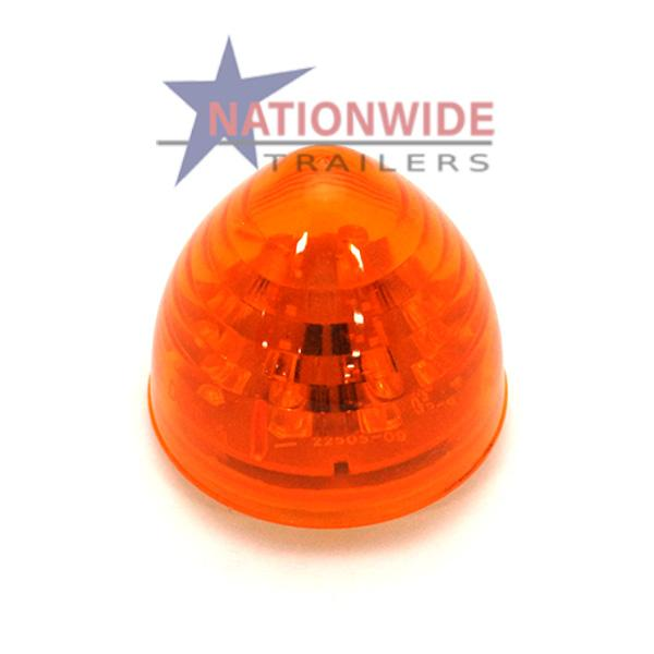 "LED Clearance Light, Beehive Marker, 2"" Amber Lights & Electrical Nationwide Trailers Parts Store"