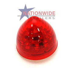 "LED Clearance Light, Beehive Marker, 2"" Red Lights & Electrical Nationwide Trailers Parts Store"