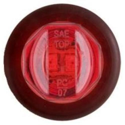 "LED Clearance Light, Mini, 3/4"" Red Lights & Electrical Nationwide Trailers Parts Store"