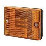 LED Clearance Light w/ Reflector, Square, Amber Lights & Electrical Nationwide Trailers Parts Store