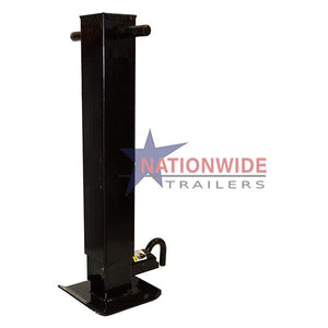 Pro Series Sidewind Jack w/ Dropleg, 12K (Gooseneck, Side-pin) Trailer Jacks Nationwide Trailers Parts Store