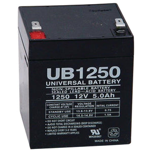 Rechargeable 12V Breakaway Battery, 5 Amp Brakes Nationwide Trailers Parts Store