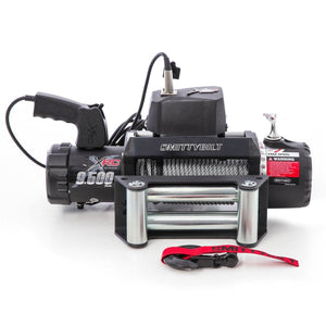 Smittybilt 97495 XRC Waterproof Winch, 9500 lb Winches Nationwide Trailers Parts Store