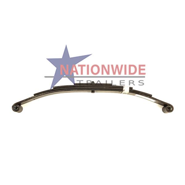 Spring, Double-Eye 4 Leaf, 3.5K Suspension Nationwide Trailers Parts Store