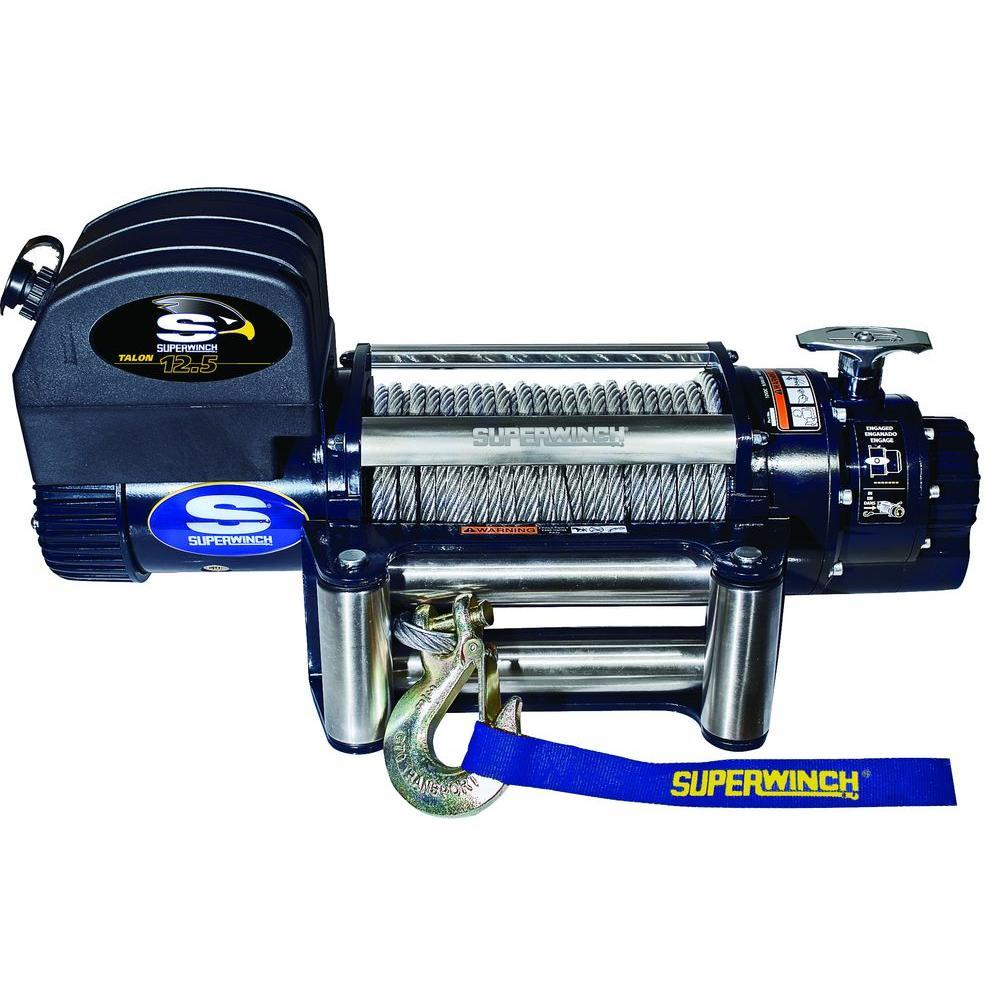 Superwinch Talon 12.5 Winches (FS) Nationwide Trailers Parts Store