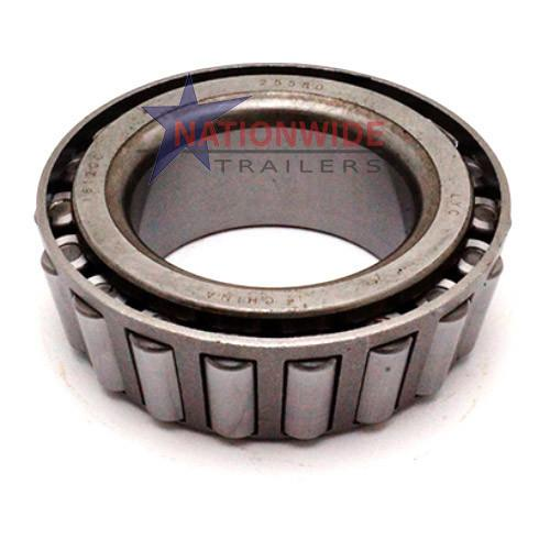 Tapered Roller Bearing 25580 Axle Components Nationwide Trailers Parts Store
