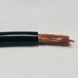 Trailer Battery Cable - Black Lights & Electrical Nationwide Trailers Parts Store