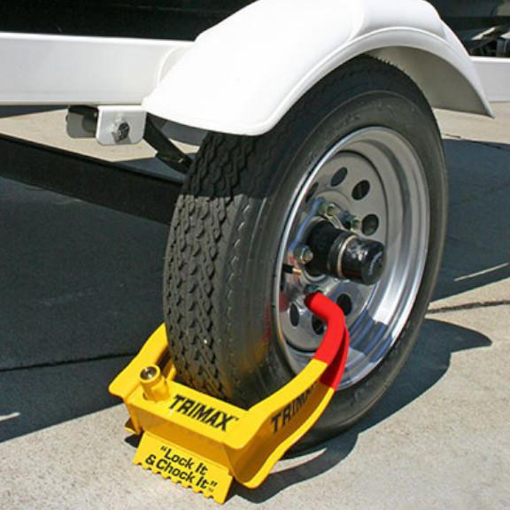 Wheel Chock Lock Trailer Safety, Security, & Accessories Nationwide Trailers Parts Store