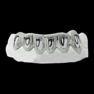 [CUSTOM-GRILLZ] Open Face Diamond Dust - Gold Teeth - Gold Grillz - Rois D'or