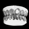 [CUSTOM GRILLZ] Solid Sterling Silver Grillz - Gold Teeth - Gold Grillz - Rois D'or