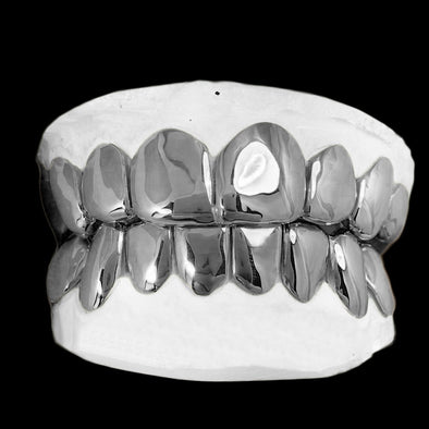 [CUSTOM-GRILLZ] Sterling Silver Bottom 8