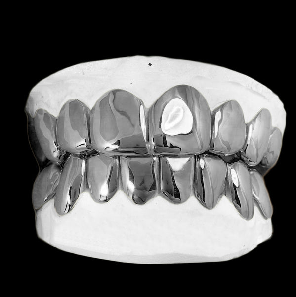 [CUSTOM-GRILLZ] Solid Sterling Silver Grillz