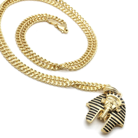 14k Gold Plated Pharaoh - Gold Teeth - Gold Grillz - Rois D'or