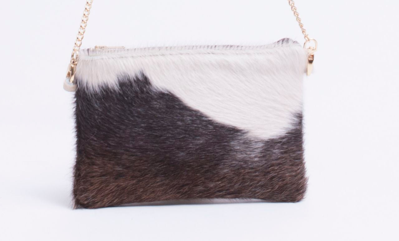 Cowhide Clutch Medium