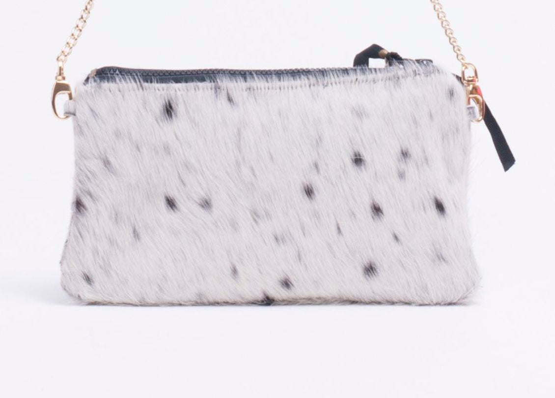 Cowhide Clutch Large