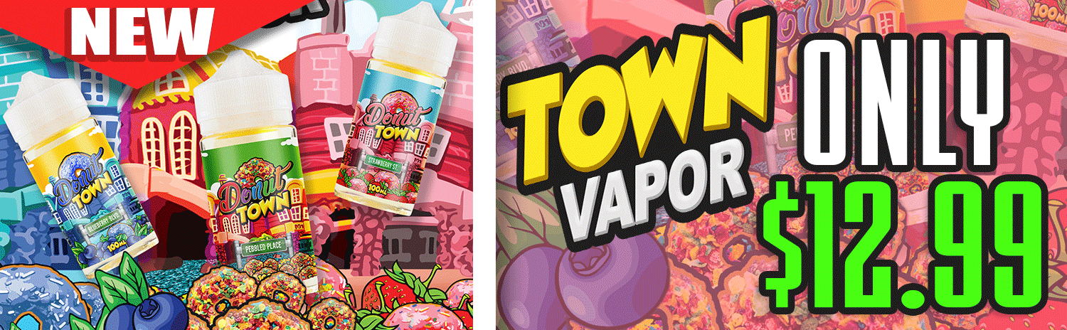 Donut Town eJuice Sale