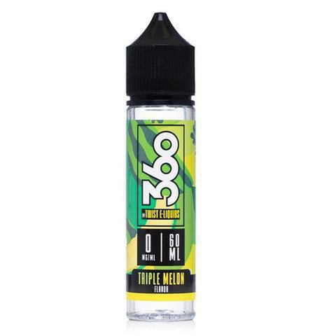 360 Twist Triple Melon 60ml Ejuice Single Bottle - UltimateVapeDeals.com