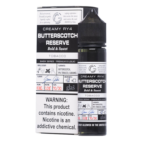 Basix Butterscotch Reserve Ejuice-UVD