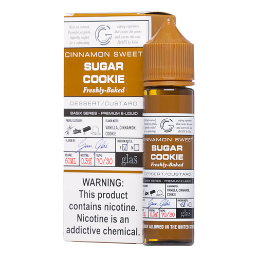 Basix Sugar Cookie Ejuice-UVD