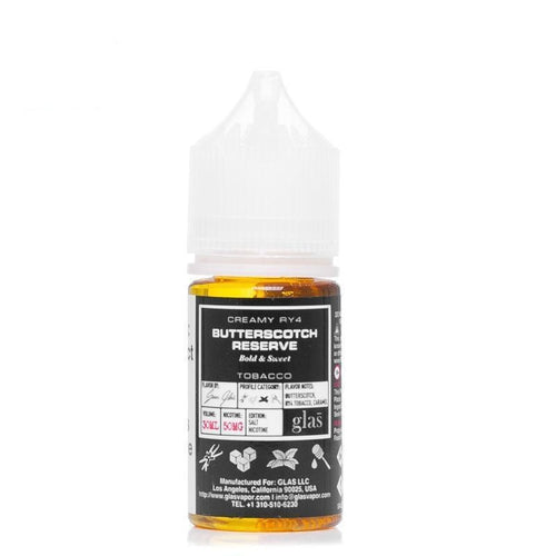 Basix Nic Salt Butterscotch Reserve Ejuice-UVD