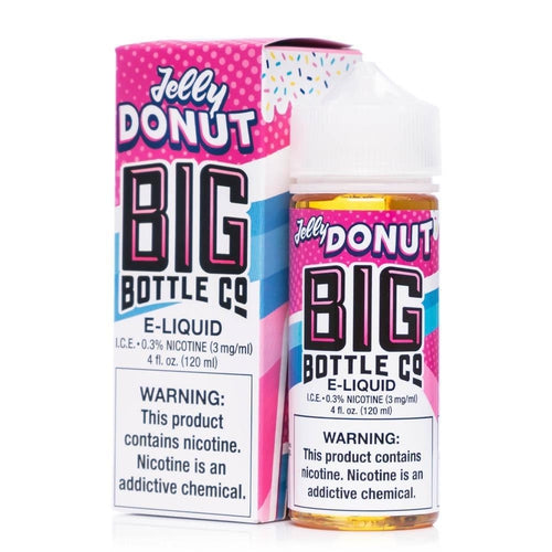 Big Bottle Co. Jelly Donut Ejuice-UVD