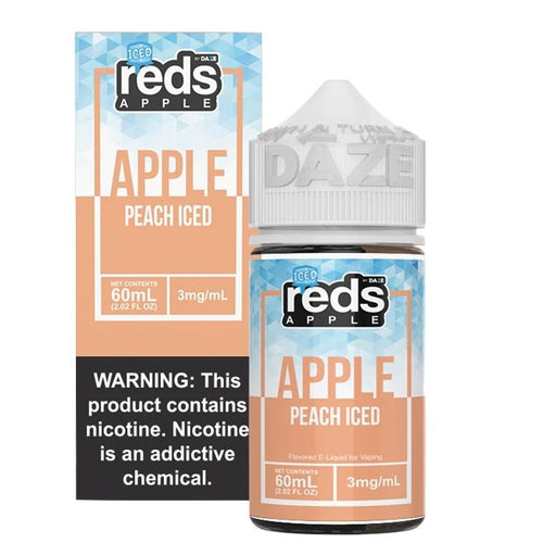Reds Peach Iced Ejuice | UVD