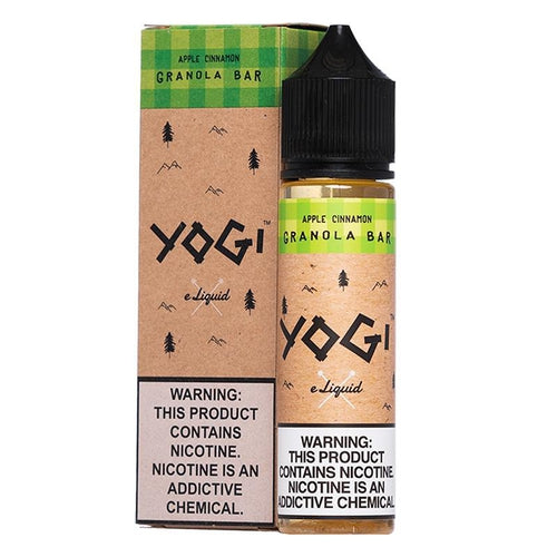 Yogi Apple Cinnamon Granola Bar Ejuice - $13.99 - Ultimate Vape Deals