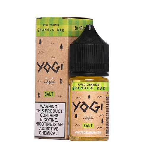 Yogi Salt Apple Cinnamon Granola Bar Eliquid - Ultimate Vape Deals