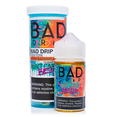 Bad Drip Labs Dont Care Bear Iced Out Ejuice-UVD