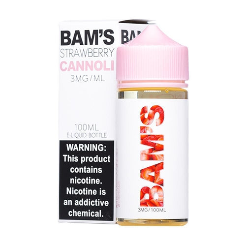 Bam's Strawberry Cannoli Eliquid - $15.99 - Ultimate Vape Deals