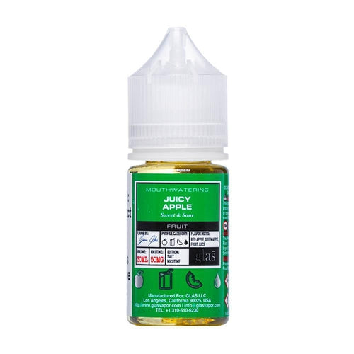 Basix Nic Salt Juicy Apple Ejuice-UVD