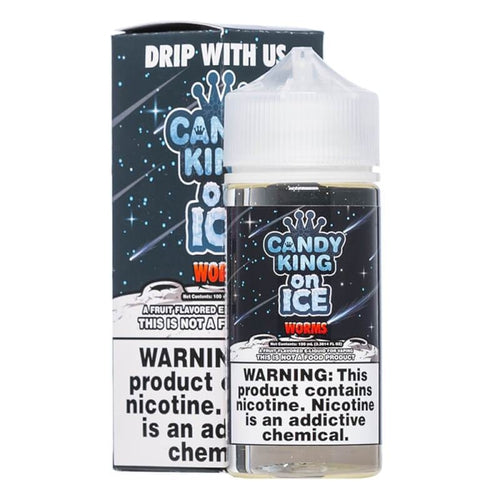 Candy King On Ice Worms Ejuice-UVD