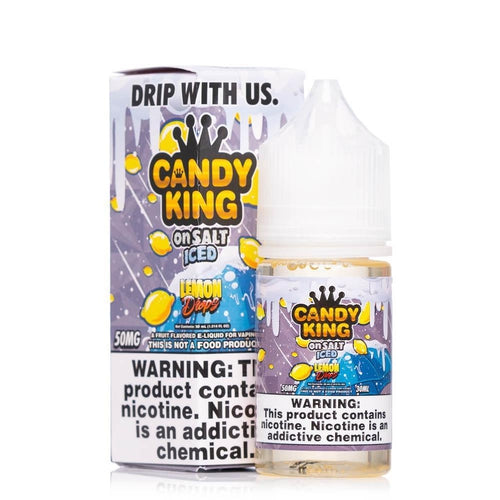 Candy King On Salt Iced Lemon Drops Ejuice-UVD